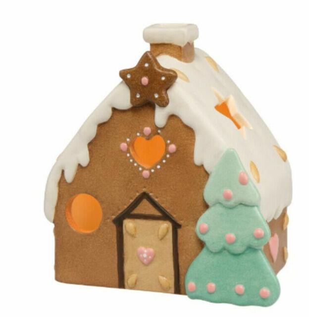 Goebel Süßes Lebkuchenhaus Nina  Marco Weihnachtsbäckerei Bunt Steingut