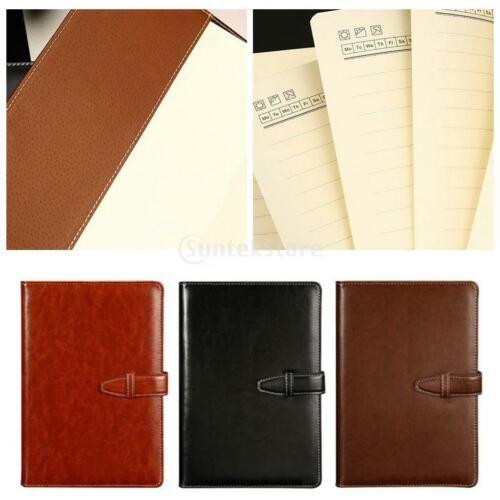 PU Leder Journal Notizbuch A5 Rustikale Vintage gebundene Tagebücher für