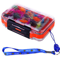 Fly Fishing Flies With Box Butterfly 24pcs Dry Fly Fishing Flies Fishing Lures