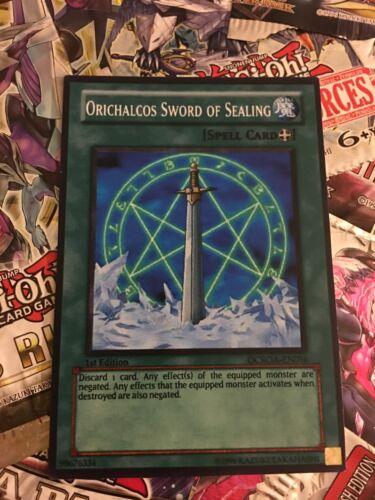 Orica Cosplay card Orichalcos Sword Of Sealing custom card!