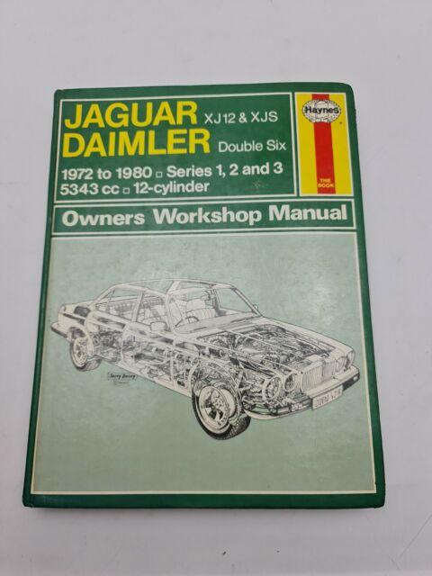 Jaguar and Daimler 12 Cylinder Owner's Workshop Haynes