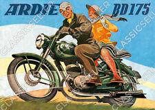 Ardie BD 175 BD175 Motorrad Poster Plakat Bild
