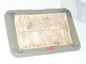 details about sl euro w107 fuse panel cover 450 380 560 slc 107 450sl 380sl 560sl 450slc r107 1978 450sl although both window