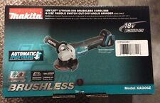 """New Makita XAG06Z 18V 4-1/2"""" LXT Brushless Cordless Cut-Off/Angle Grinder Tool -"""