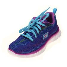 Skechers Skech Appeal  Prancy Dance Girls Athletic Shoes  Blue/Purple Size 13
