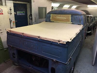 Tonneau Tan Canvas Cover Vw T1 T2 Splits Crew Double Cab Pick Up 50 67 C9667 Ebay