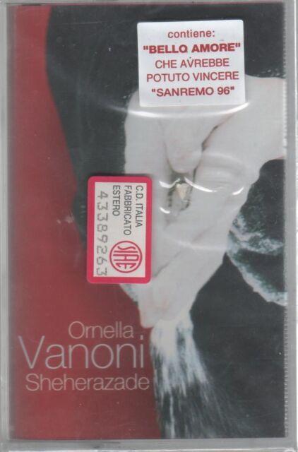 ORNELLA VANONI SHEHERAZADE MC K7 MUSICASSETTA SIGILLATA!!!