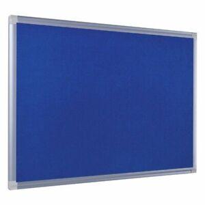 Rahmen Filzboard 80 x 120 cm MDF-Rückwand Memo Pinnwand FILZ mit Alurahmen