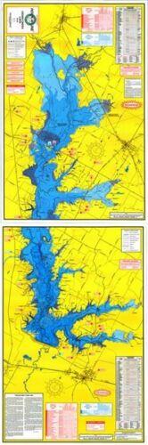 Hook-N-Line F125 Cedar Creek Lake Fishing Map