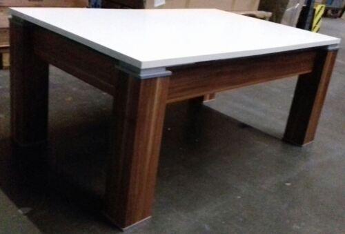 1d NEU Couchtisch Beistelltisch Wohnzimmertisch Maxi Walnuss-weiß Tisch UVP149,
