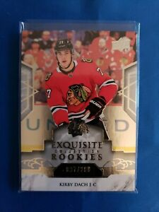 2019-20-UD-Ice-Exqusite-Collection-Rookies-Kirby-Dach-299-R21
