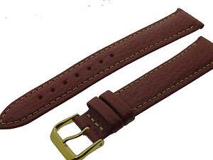 # L048 # Uhrenarmband Armband Haifisch Leder Bracelet Shark Leather 18 Mm