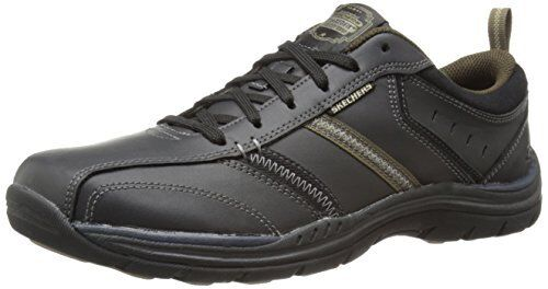 Skechers USA Mens Expected Devention Oxford- Select SZ color.