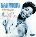 What More Can a Woman Do 0824046014124 by Sarah Vaughan CD