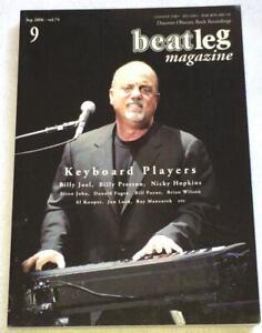 beatleg 9/2006 Japan Music Magazine Billy Joel Billy Preston Elton John Stones