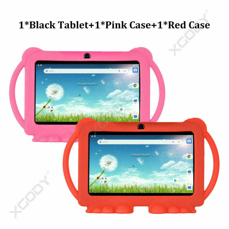 Tablet+PinkCase+RedCase
