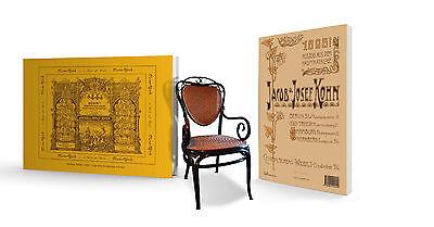 Cataloge Jacob & Josef Kohn 1885/1898 Thonet Hochwertige Materialien
