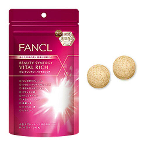 FANCL beauty synergy vital rich Supplement about 30 days 240tablets Beauty Japan