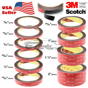 35-Feet-Genuine-3M-VHB-5952-Double-Sided-Mounting-Acrylic-Foam-Tape-Adhesive