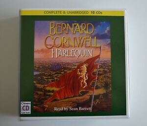 Harlequin-by-Bernard-Cornwell-Unabridged-Audiobook-10CDs