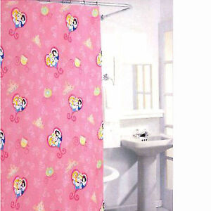 Disney Princess Shower Curtain Set W 12 Hooks