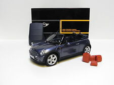 1:18 Kyosho Mini Cooper Convertible R52 Cool blue DEALER SP NEW bei PREMIUM-MODE