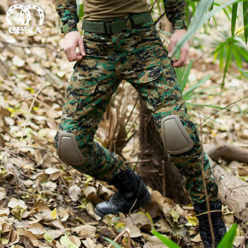 NEW Mens Army BDU Pants Tactical Combat CS Training Trousers Cargo Pants