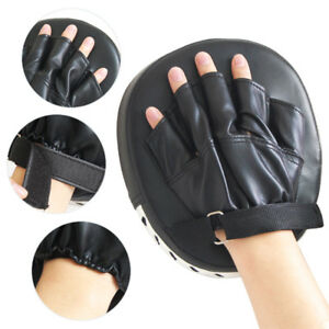 Boxing-Punching-MMA-Mitts-Gloves-Target-Focus-Pad-Gear-for-Thai-Kick-Karate-Mauy