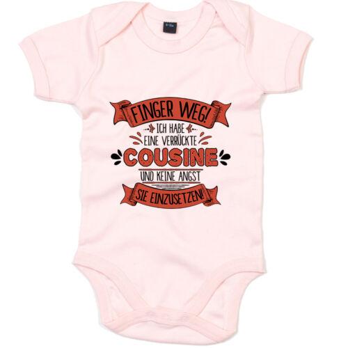 Baby sort cousine Premium Babybody touche pas cousine fou Fille Garçon