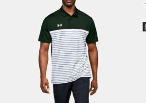 innovación Parque jurásico Objetor  Under Armour UA Men's HeatGear Strip Mix Up Golf Polo Shirt 5XL XXXXXL Save  30%   eBay