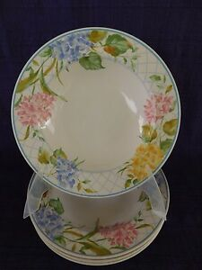 Mikasa-Garden-Bouquet-SOUP-BOWL-1-of-4-available-have-more-items-to-set-Intaglio