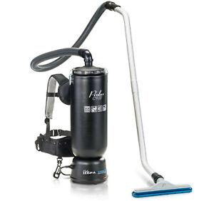 Prolux 10 Quart Commercial Backpack HEPA Vacuum Cleaner - Certified Refurbished