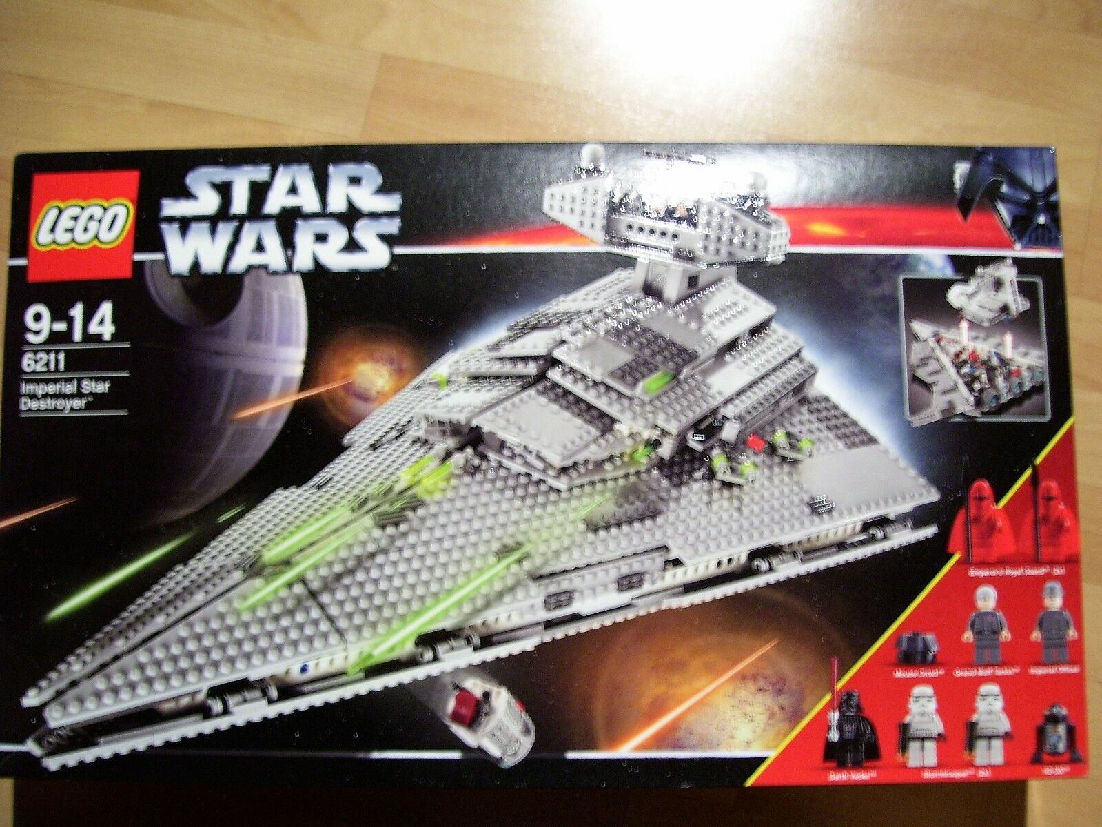 Lego Star Wars 6211-Imperial Star Destroyer-Neuf et dans neuf dans sa boîte-Vaisseau Spatial -