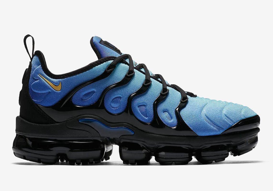 Nike Air VaporMax Plus size 12.5. Hyper bluee Black. 924453-008. 98 97 95 1 max