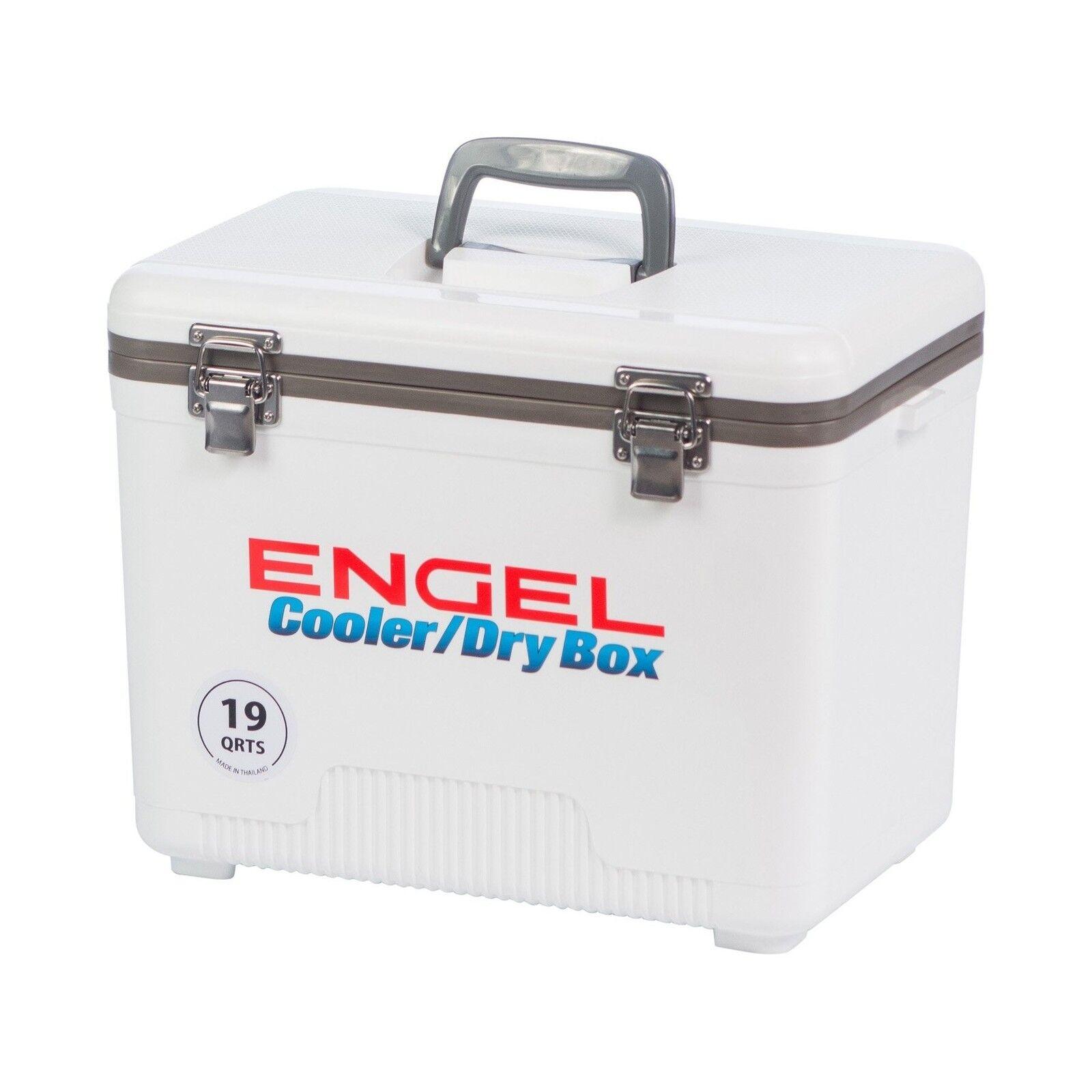ENGEL USA Cooler Dry  Box 19 Quart White Free Shipping  new listing