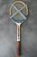 ZENTRASPORT-Holz-Tennisschlager-RETRO-MATCH-international-60er-70er-fibre-sealed miniatura 2