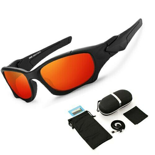 X-Metal Cyclops Sunglasses Ruby Polarized Glass Titanium Goggles Cycling Eyewear