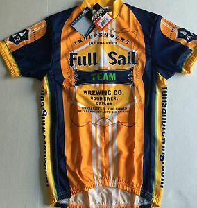 6e512e745 FULL SAIL BREWING CO. TEAM CYCLING JERSEY SMALL NEW   LAST ONE ...