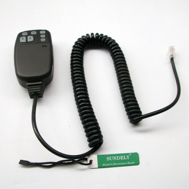 For ICOM RJ-45 Plug HM-133 DTMF Mic  IC-2720H IC-2820H sw Microphone US STOCK