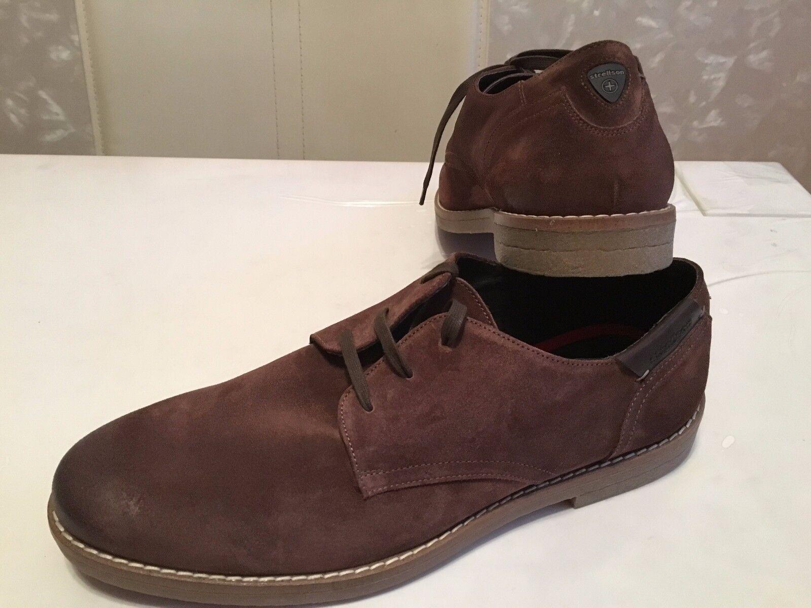 STRELLSON+ Herren Schuhe braunLEDER Gr.45 NEU
