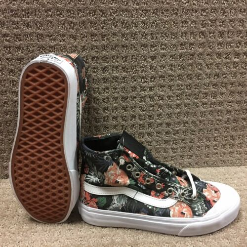 Vans Hi Sf Ball Negro desierto Floral Mujer Zapatos negro rB0Uq4r
