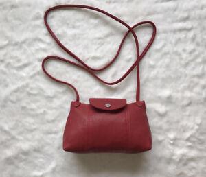 Longchamp Le Pliage Cuir Leather