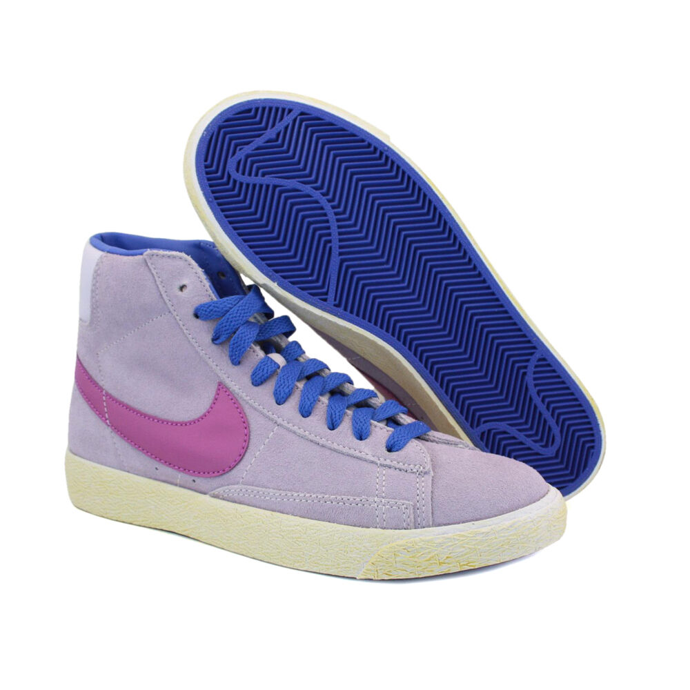 NR.38,5 NIKE BLAZER WOMAN MID PREMIUM LEATHER SHOES LEATHER 539930 501