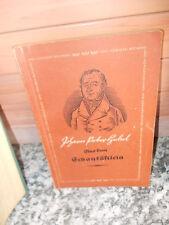 Aus dem Schatzkästlein, von Joh. Peter Hebel, aus dem Drei Königen Verlag
