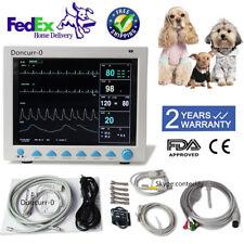 Contec Veterinary Patient Monitor Vital Signs 6 Parameter Cms8000vet Usa Stock
