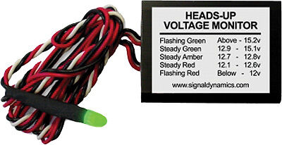 HEADS-UP VOLTAGE MONITOR 2-1//4X1-5//8-5//8/""
