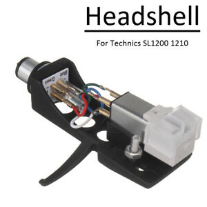 For-Technics-SL1200-LP-Audio-Phono-Stylus-Cartridge-Unit-Headshell-Turntable