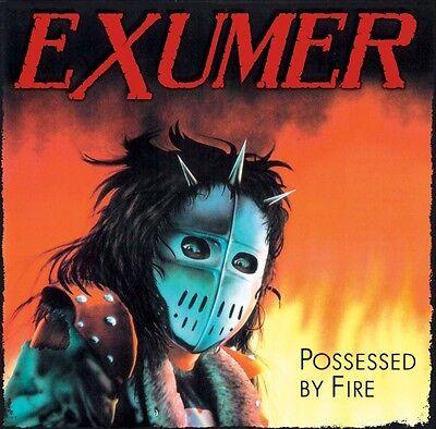 EXUMER POSSESSED BY FIRE + 3 BONUS TRACKS SEALED CD NEW