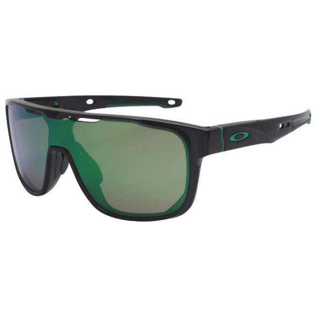 4ca23806d6 Oakley OO 9387-03 CROSSRANGE SHIELD Black Ink Prizm Jade Iridium Sunglasses