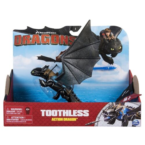Brand New * DreamWorks Dragons Action Dragon-Missile Fire Attack Toothless